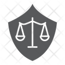 Defense Law Justice Icon
