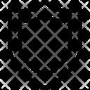 Defense Firewall Guard Icon