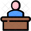 Defense Justice Lawyer Icon