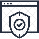 Defense Online Protection Icon