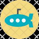 Defense Vessel Sea Icon