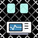 Defibrillator Heart Health Icon