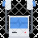 Defibrillator Emergency Medical Icon