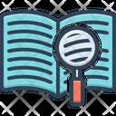 Definition Book Catalog Icon