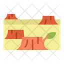 Deforestation Forest Damage Icon