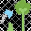 Deforestation Icon