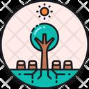 Deforestation Destruction Forest Icon