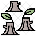 Deforestation Natural Plant Icon
