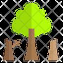 Deforestation Forest Tree Icon