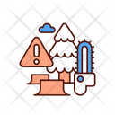 Deforestation Forest Environment Icon