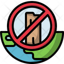 Deforestation Problem Ecology Icon