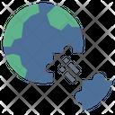 Deglobalization Icon