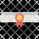 Degree Scroll Award Icon