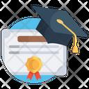 Certificate Achievement Certificate Diploma Icon