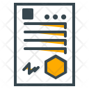 Degree Certificate Agreement Icon