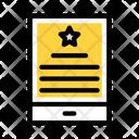Degree Certificate Mobile Icon