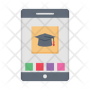 Degree Education Online Icon