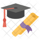 Degree Certificate Educational Degree Icon