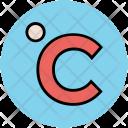 Degree Celsius Centigrade Icon