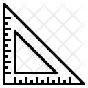 Degree Square Drafting Icon