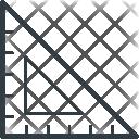 Degree Scale Triangle Icon