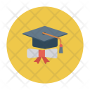 Certificate Degree Medal Icon