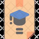 Diploma University Education Icon