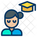 Degree Holder Graduate Postgraduate Icon