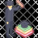 Degree Holder Graduate Student Diploma Holder Icon