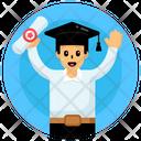 Postgraduate Degree Holder Graduate Student Icon