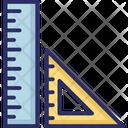 Degree Square Drafting Geometry Icon
