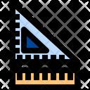 Degree Square Geometry Drafting Icon