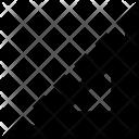 Degree Square Icon