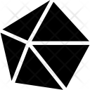 Dekaeder convex Icon