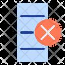 Delate Column Icon