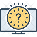Delay Detain Make Late Icon