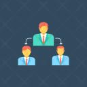 Delegation Task Delegating Icon