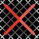 Delete Cancel Icon