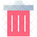 Delete Bin Garbage Icon