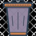 Bin Trash Clean Icon