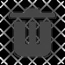 Remove Trash Bin Icon