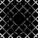 Delete Cancel Shield Icon
