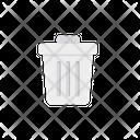Delete Trash Basket Icon