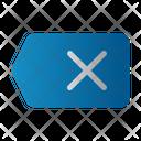 Delete Remove Eraser Icon