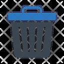 Delete Trashcan Basket Icon