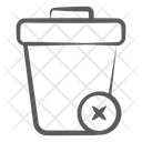 Delete Remove Garbage Data Icon