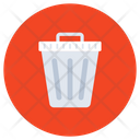 Trash Bin Delete Dustbin Icon