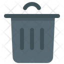 Delete Trash Can Garbage Icon