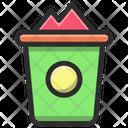 Delete Basket Handmade Icon