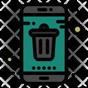 Delete Mobile Smartphone Icon